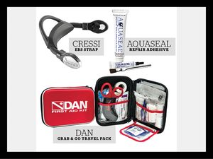 scuba diving gear for your save-a-dive kit