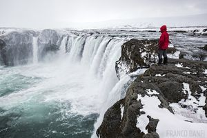 Goðafoss Waterfall of the Gods Iceland geography