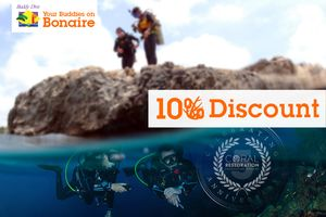 10% discount on your Bonaire Dive Package