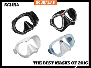 ScubaLab Tests the Best Dive Masks of 2016