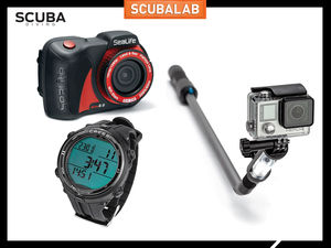 ScubaLab Quick Looks Scuba Diving Gear Computers and Cameras