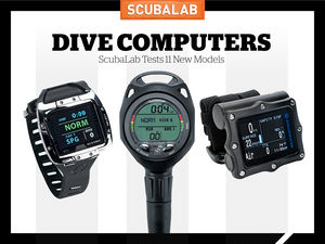 ScubaLab dive computer gear review 2106.