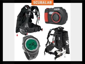 Scuba diving gear BCs dive computers and underwater cameras ScubaLab