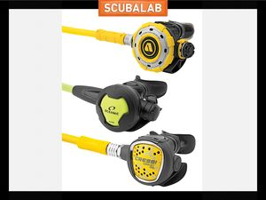 Alternative second stage regulators scuba diving gear