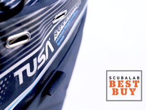 The Tusa Soverin-Alpha was ScubaLab's Best Buy jacket-style BC