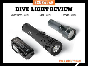 Scuba Diving Gear Review: Dive Lights and Video Lights