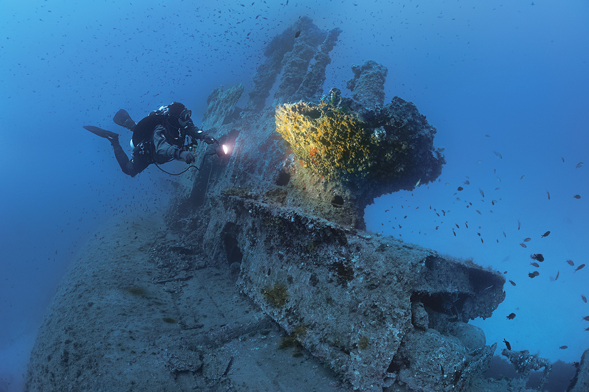 25 Advanced and Awesome Shipwrecks for Technical Scuba Divers to Explore